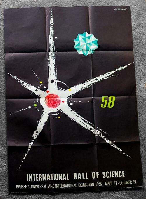 Dan Reisinger Brussels World's Fair poster, 1958