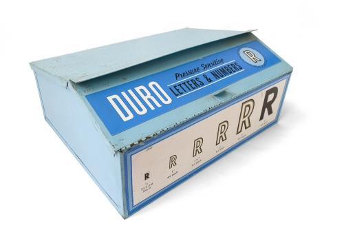 Duro Decals Pressure Sensitive Letters & Numbers Box