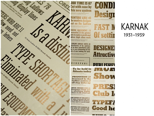Ludlow: Typographic Influence, 1931–1962 (12)