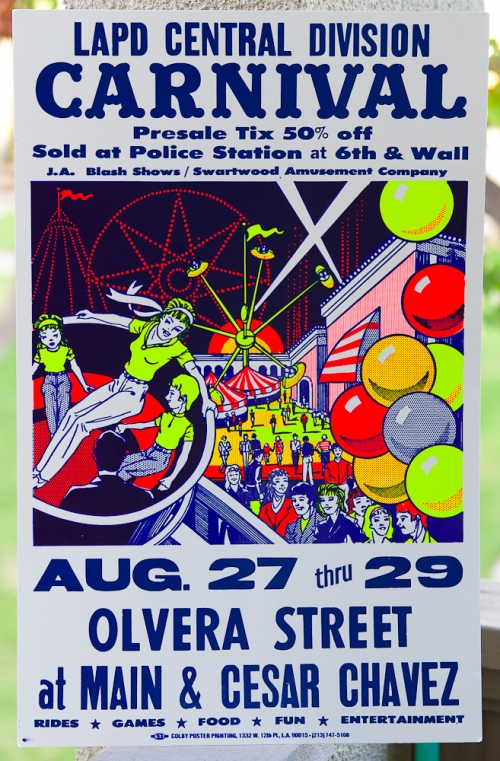 Olvera Street Carnival Poster by Colby Poster Printing