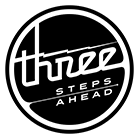 Three Steps Ahead logo