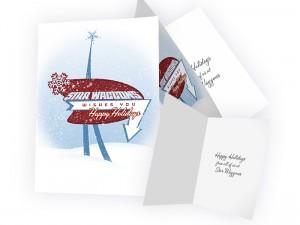 Star Waggons holiday card