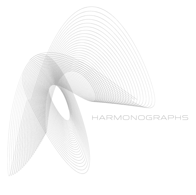 Harmonographs: Drawings of the Future