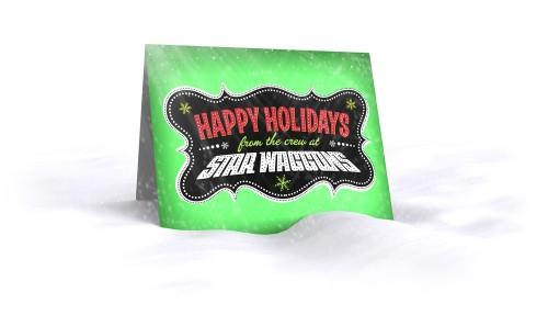 Star Waggons Holiday Card 2009