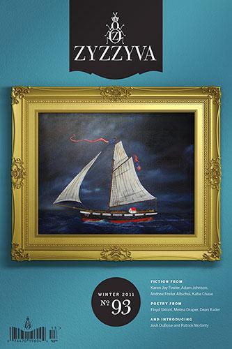 ZYZZYVA No. 93, Winter 2011 cover