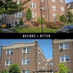 Brenton Hall, before and after