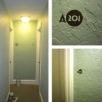 Brenton Hall interior apartment numbers