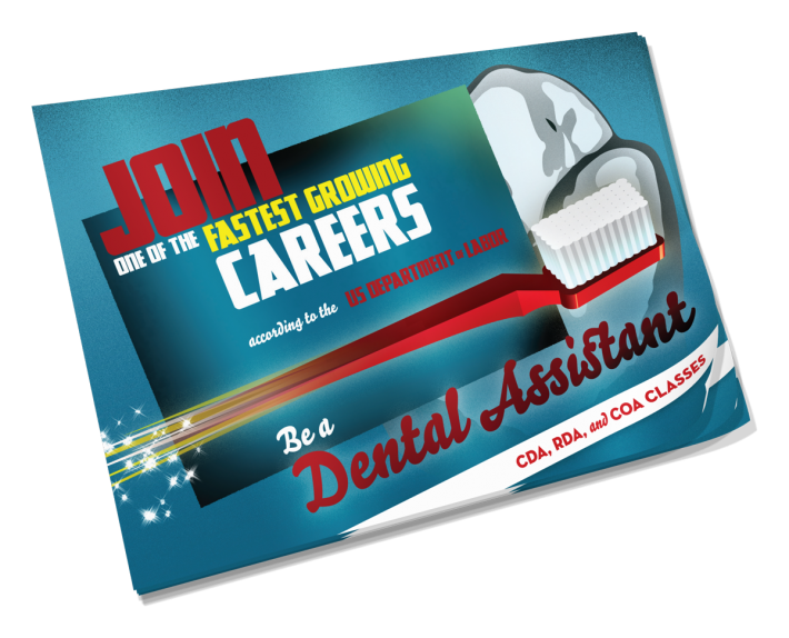 Dental Assistant School Postcard
