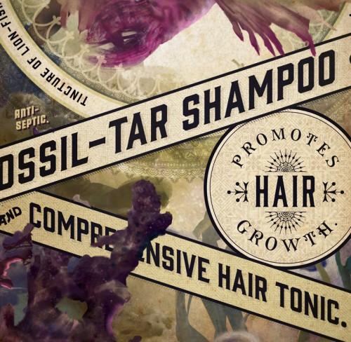 Lionfish Shampoo design by Josh Korwin & Devin Korwin, closeup
