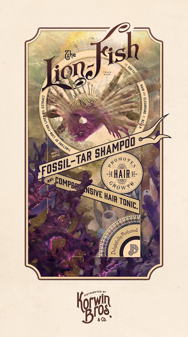 The Lion-Fish Shampoo, by Josh Korwin & Devin Korwin
