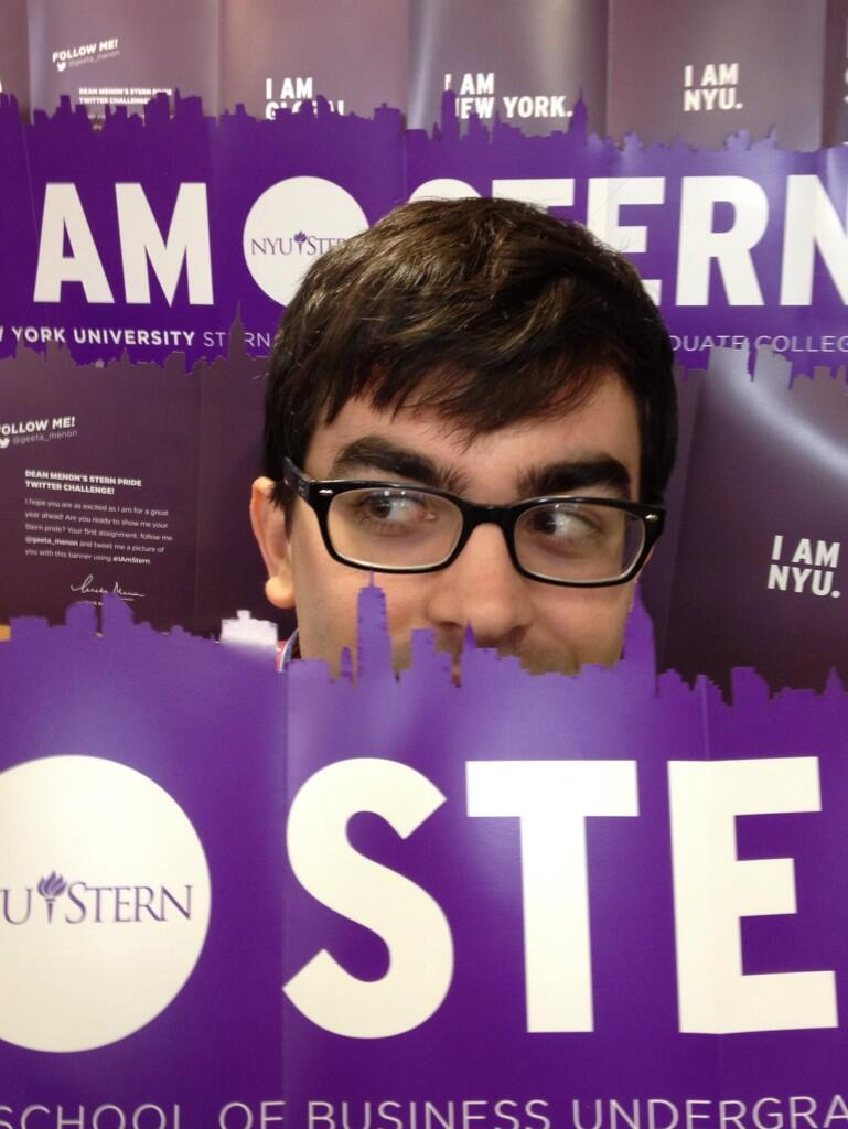 Matthew hiding in the I AM STERN city