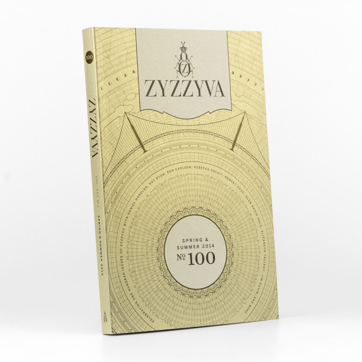 ZYZZYVA No. 100, designed by Josh Korwin