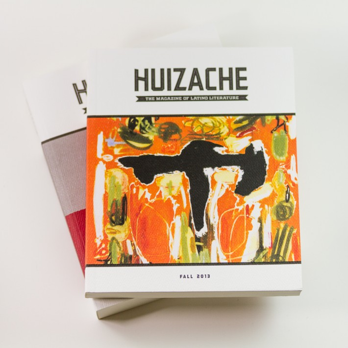 Huizache: The Magazine of Latino Literature, designed by Three Steps Ahead