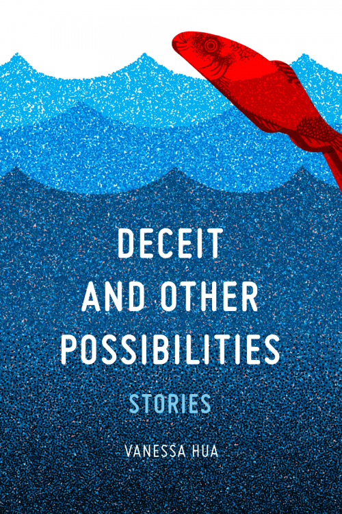 Vanessa Hua Deceit and Other Possibilities, early cover design concept B