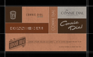 Connie Dial phase one logo sketches