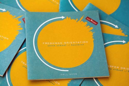 NYU Stern Orientation Program prints