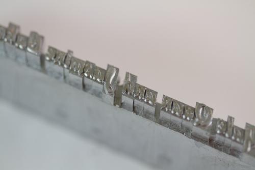 Ludlow Slug with Jasmine & Yale's names