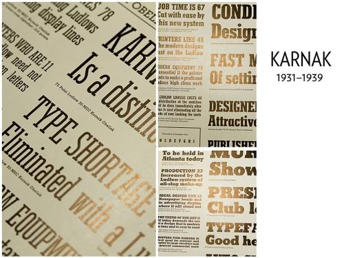 Ludlow: Typographic Influence, 1931–1962 (12)