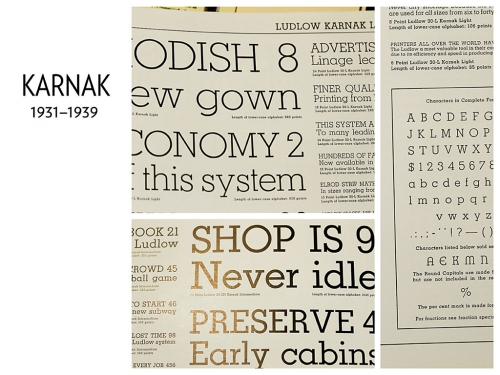 Ludlow: Typographic Influence, 1931–1962 (13)