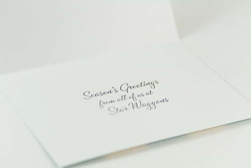 Star Waggons holiday card 2011 (inside)