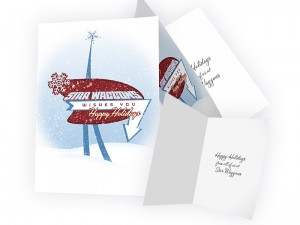 Star Waggons holiday card
