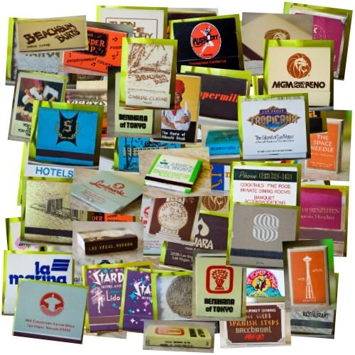 Vintage Matchbooks Montage