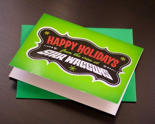 Star Waggons Holiday Card (print)