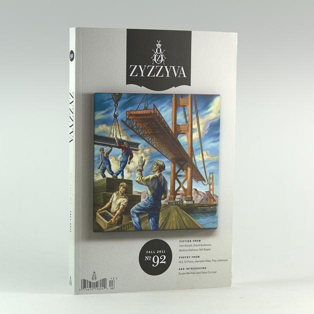ZYZZYVA No. 92 Fall 2011, cover