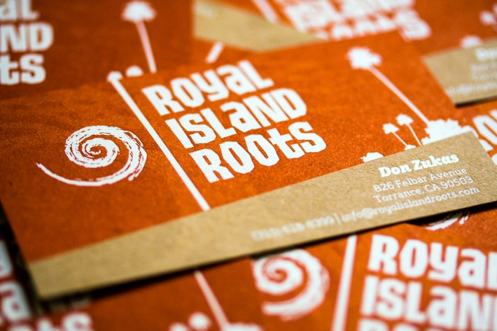 Royal Island Roots business card