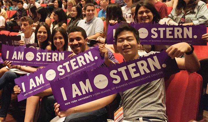I AM STERN during orientation