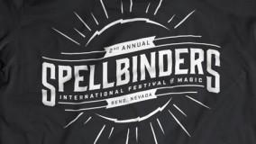 Spellbinders t-shirt, front